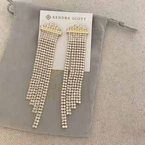 Kendra Scott Olympia Statement Earrings. NWOT
